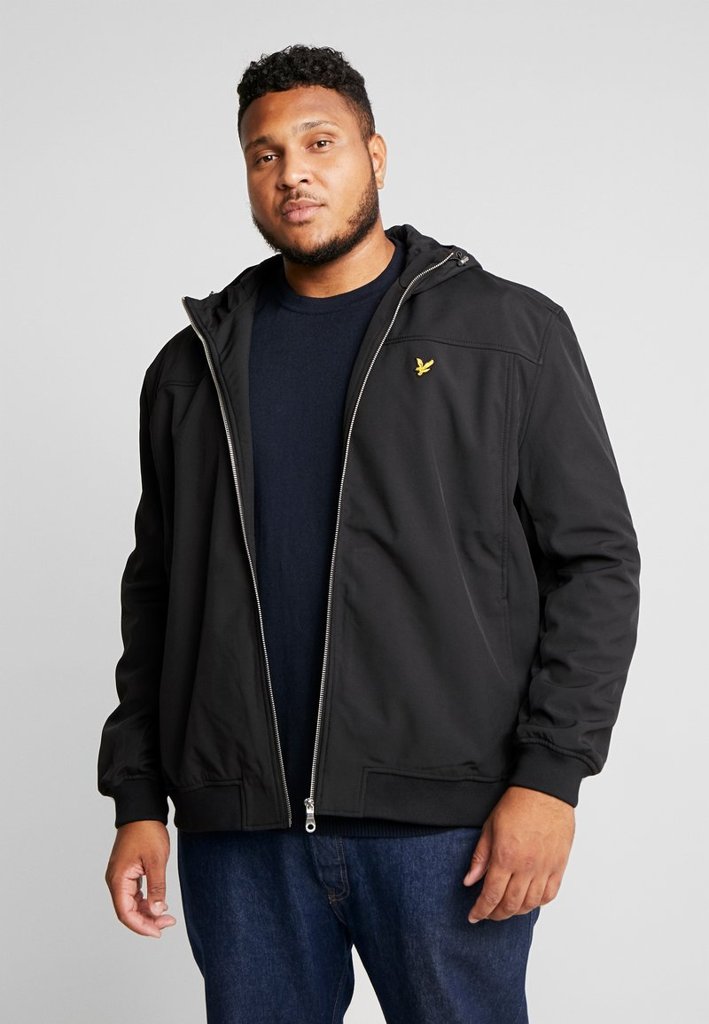 Lyle & Scott - PLUS SOFTSHELL - Jas - true black