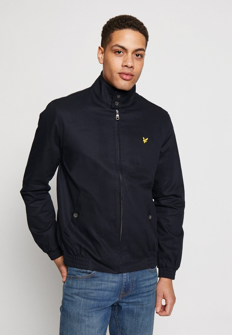 Lyle & Scott - HARRINGTON JACKET - Bomberjakke - dark navy