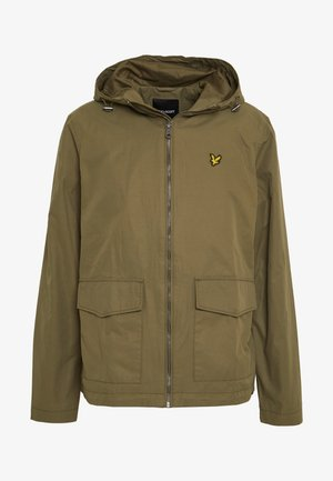 DOUBLE POCKET JACKET - Tunn jacka - lichen green