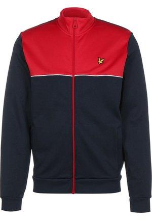 YOKE  - Training jacket - gala red/navy