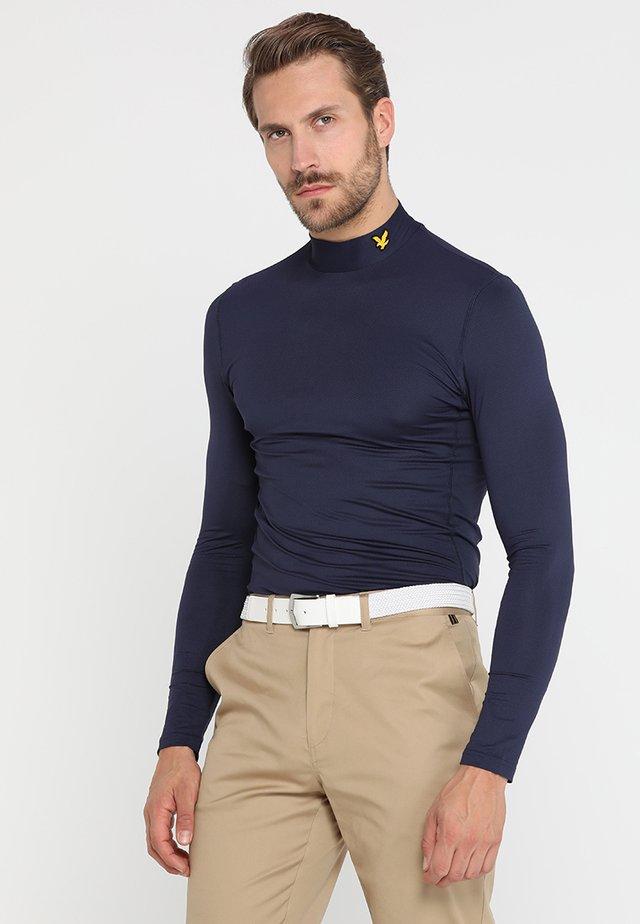 GOLF BASELAYER - Long sleeved top - navy