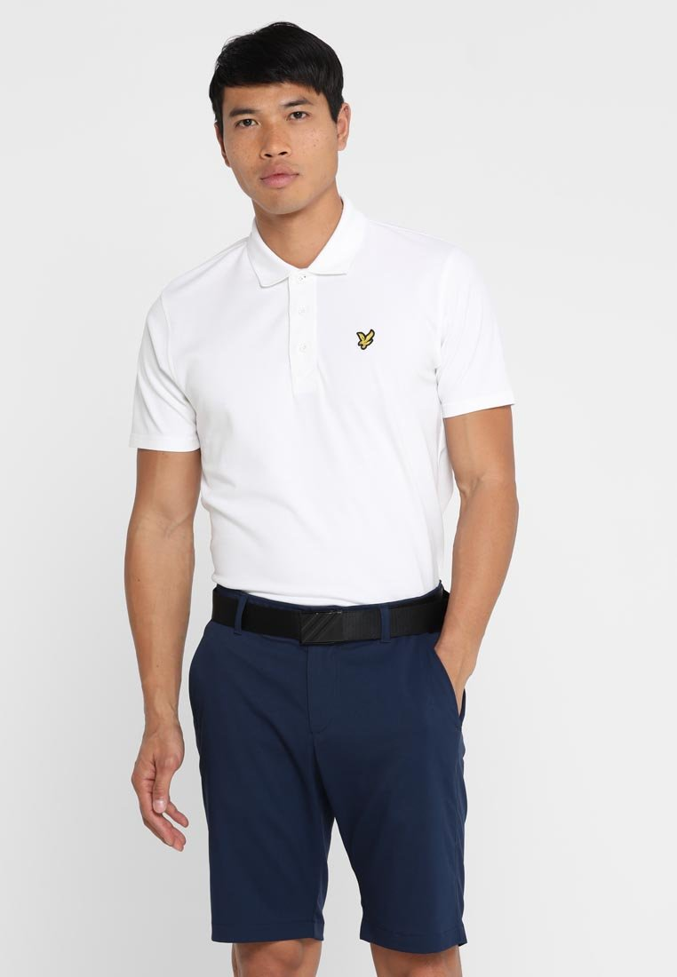 Lyle & Scott - GOLF - Polo - white