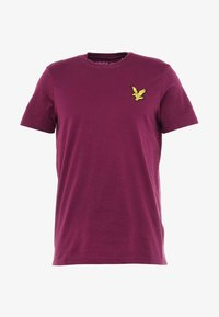 Lyle & Scott - ATTAQUER - T-Shirt print - bright purple - 5