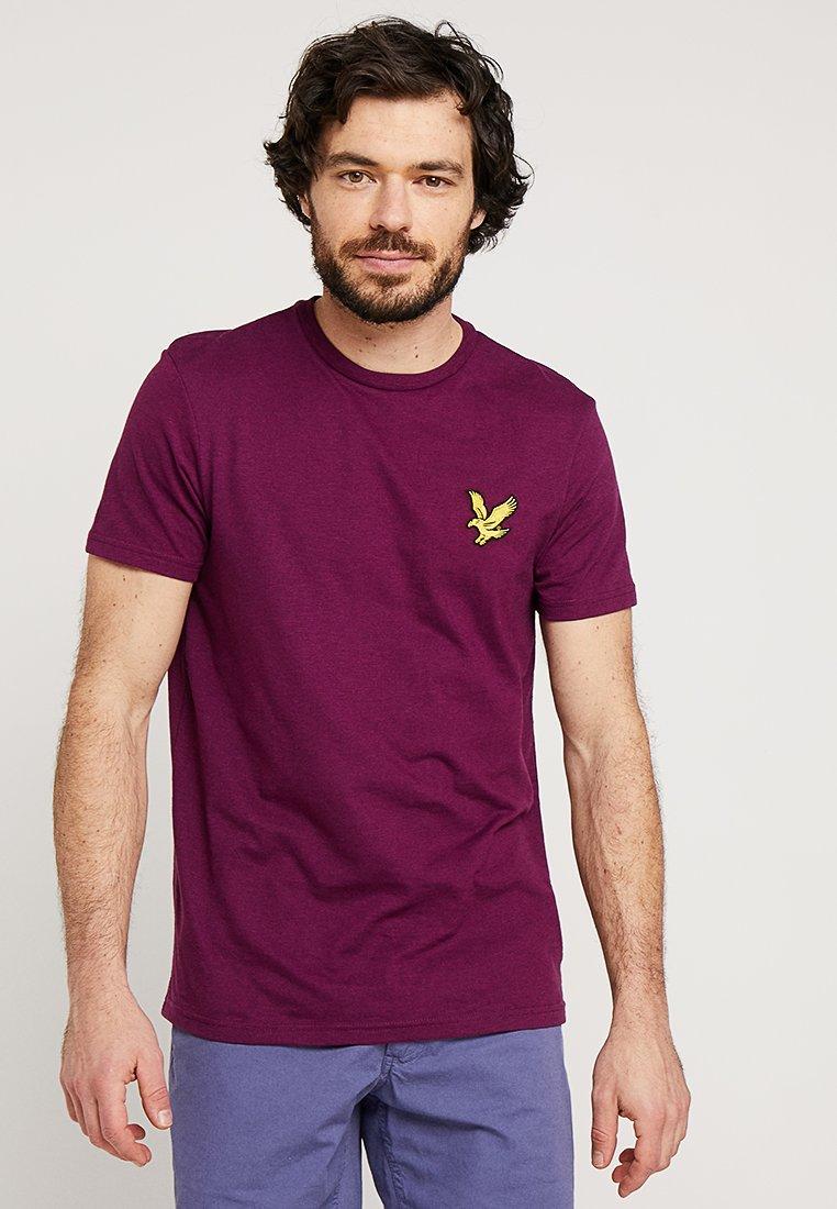 Lyle & Scott - ATTAQUER - T-Shirt print - bright purple