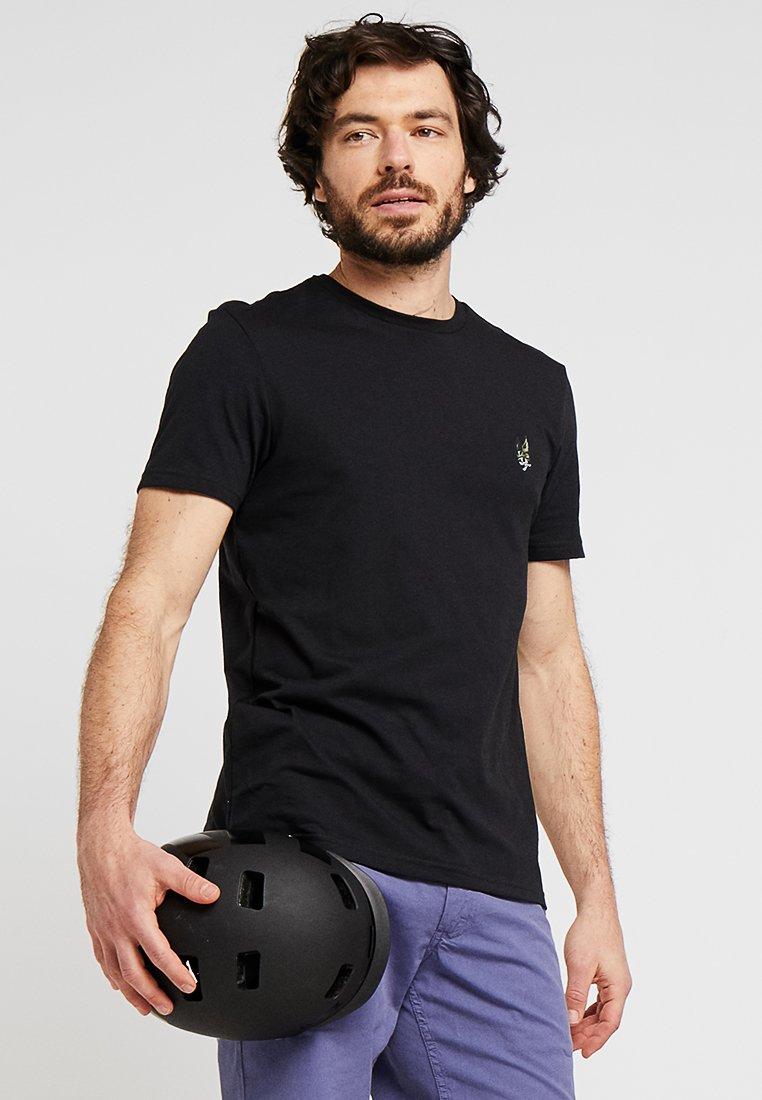 Lyle & Scott - ATTAQUER LOGO - T-Shirt basic - true black
