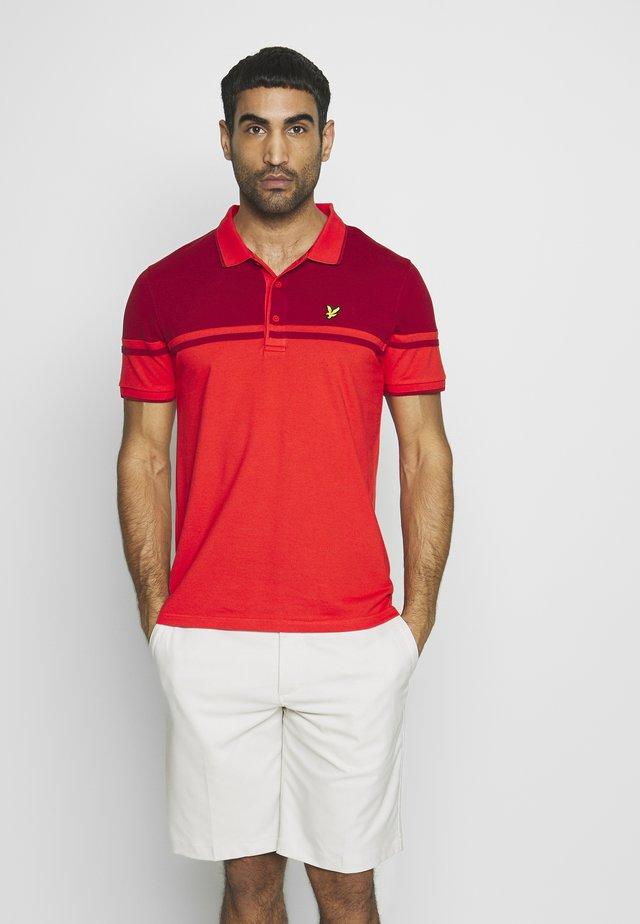 CROFT - Funkční triko - fire red