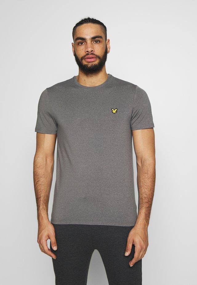 EAGLE TRAIL - Jednoduché triko - mid grey marl