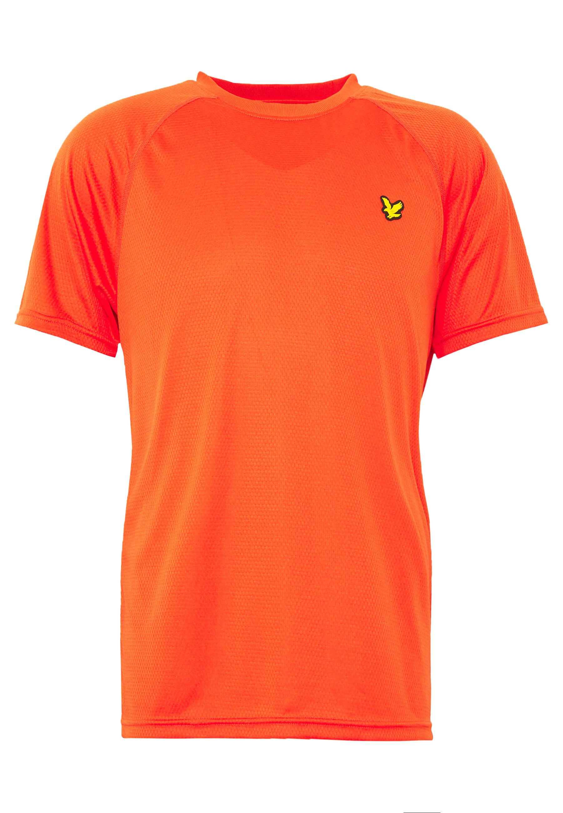 Lyle & Scott Core Raglan - T-shirt Basique Amber Blaze