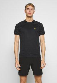 Lyle & Scott - CORE RAGLAN - T-shirt basic - true black - 0