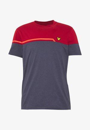 BLOCK - Print T-shirt - graphite