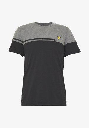 BLOCK - T-shirt print - true black
