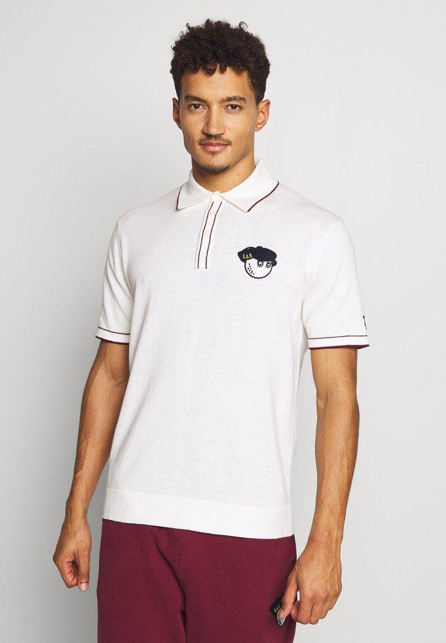 MALBON - Poloshirt - white