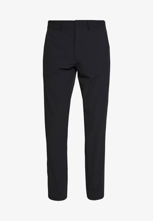 GOLF TECH TROUSERS - Spodnie materiałowe - true black