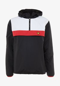 Lyle & Scott - OVERHEAD ANORAK - Trainingsvest - true black - 5