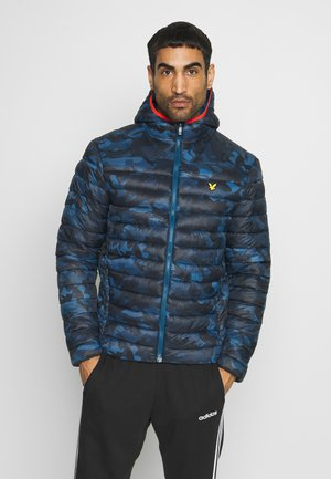LIGHTWEIGHT QUILTED JACKET - Giacca invernale - deep fjord/true black