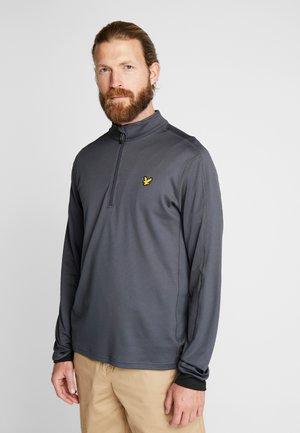 VENTECH GOLF MIDLAYER - Sportshirt - true black marl