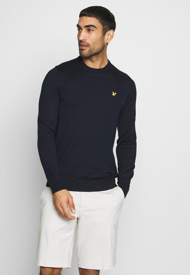 GOLF CREW NECK  - Sweatshirt - navy