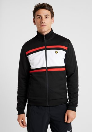 TRACK JACKET - Trainingsvest - true black