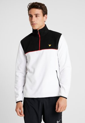 Fleece trui - white