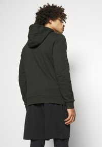 Lyle & Scott - HOODED FULL ZIP MIDLAYER - Mikina na zip - deep spruce marl - 2