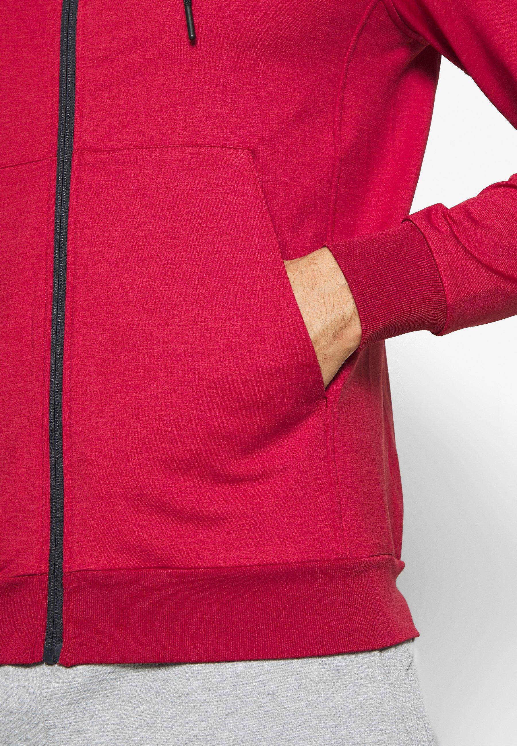 Lyle & Scott Superwick Full Zip Midlayer - Sweatjakke /træningstrøjer Turbo Red
