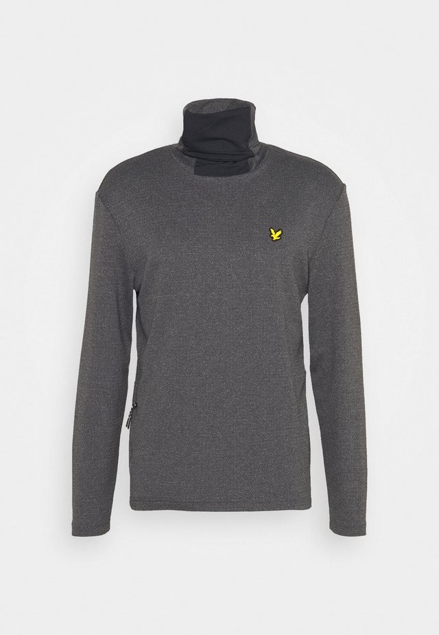 SNOOD MIDLAYER - Sweatshirt - true black