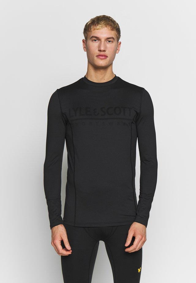 BASE LAYER - Koszulka sportowa - true black