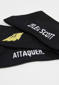 Lyle & Scott - ATTAQUER SOCKS - Sportsocken - true black - 2