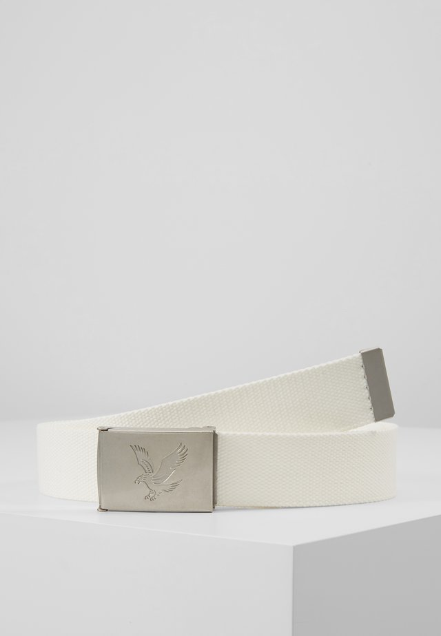 GOLF BELTS - Pasek - white
