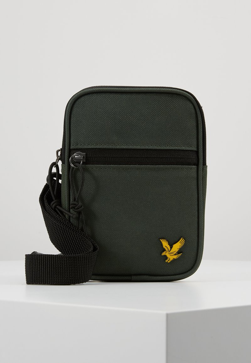 Lyle & Scott - MINI MESSENGER - Torba na ramię - jade green