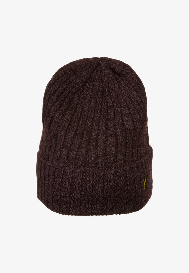 MOULINE BEANIE - Bonnet - berry/burgundy