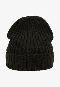 Lyle & Scott - MOULINE BEANIE - Čepice - true black/jade green - 5