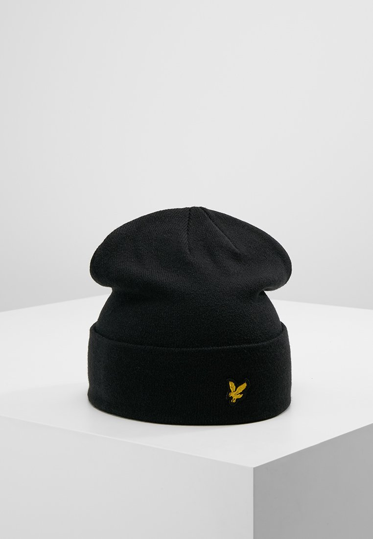 Lyle & Scott - BEANIE - Mütze - true black