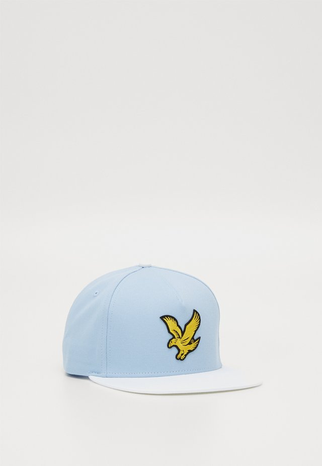 COLOUR BLOCK EAGLE - Casquette - pool blue/white