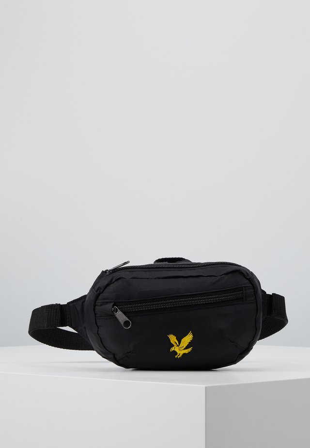 RIPSTOP UTILITY BAG - Sac banane - true black
