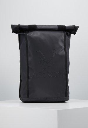 ROLL TOP BACKPACK - Rucksack - true black