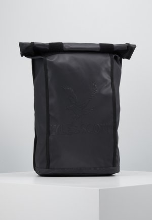 ROLL TOP BACKPACK - Ryggsekk - true black