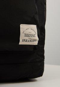 Lyle & Scott - Rucksack - true black - 2