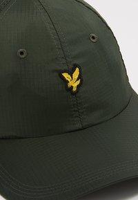 Lyle & Scott - RIPSTOP CAP - Cap - woodland green - 6
