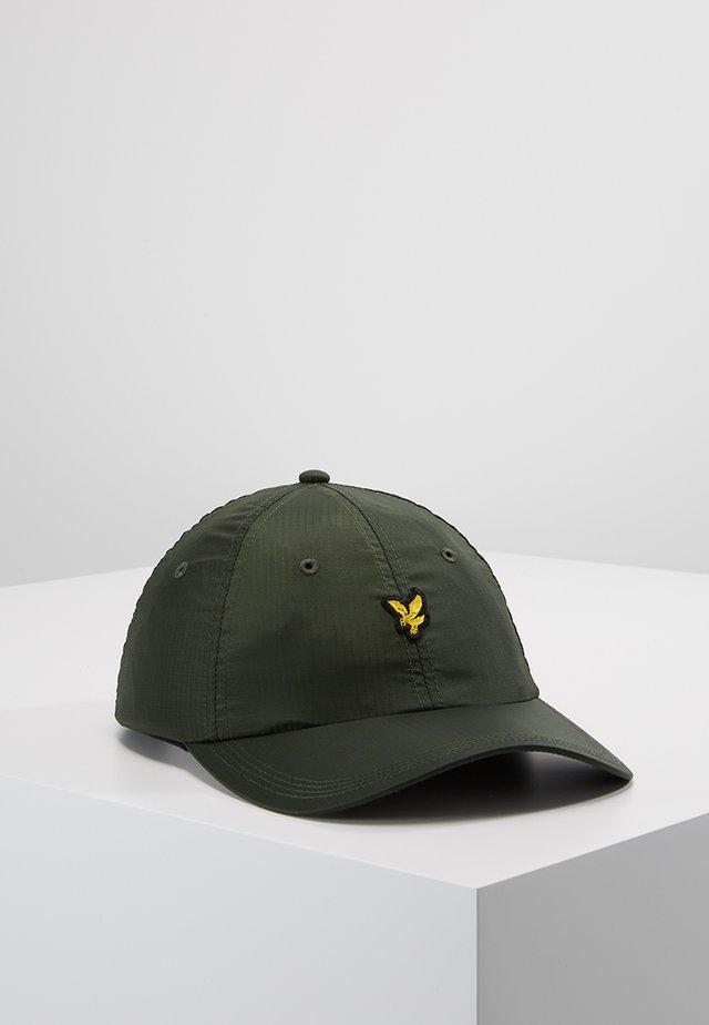 RIPSTOP CAP - Czapka z daszkiem - woodland green