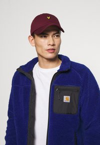Lyle & Scott - BASEBALL - Cap - merlot - 3