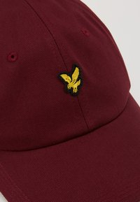 Lyle & Scott - BASEBALL - Cap - merlot - 5