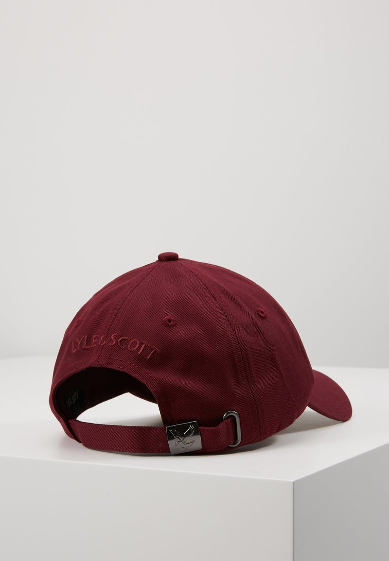 Lyle & Scott - BASEBALL - Cap - merlot