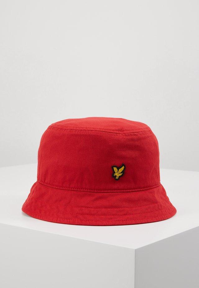 BUCKET HAT - Hattu - gala red