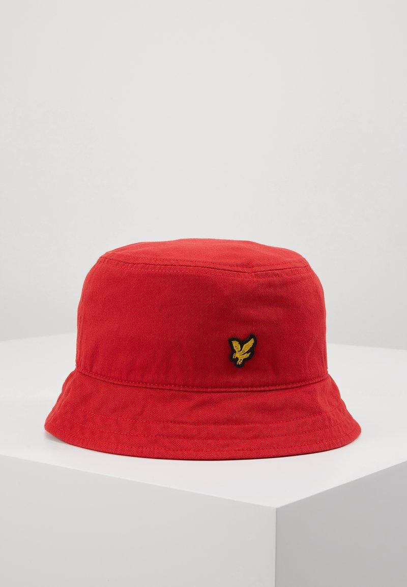 Lyle & Scott - BUCKET HAT - Hat - gala red