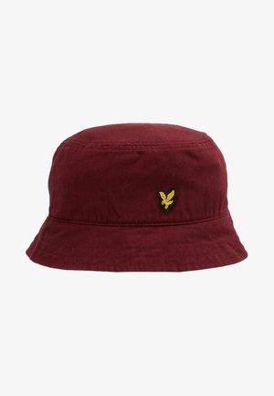 BUCKET HAT - Hoed - bordeaux
