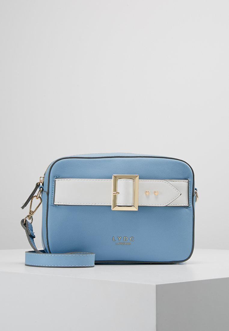 LYDC London - Across body bag - light blue/white