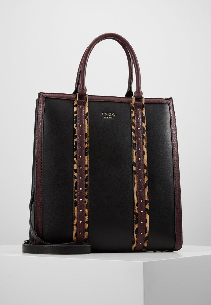 LYDC London - Velká kabelka - black/brown