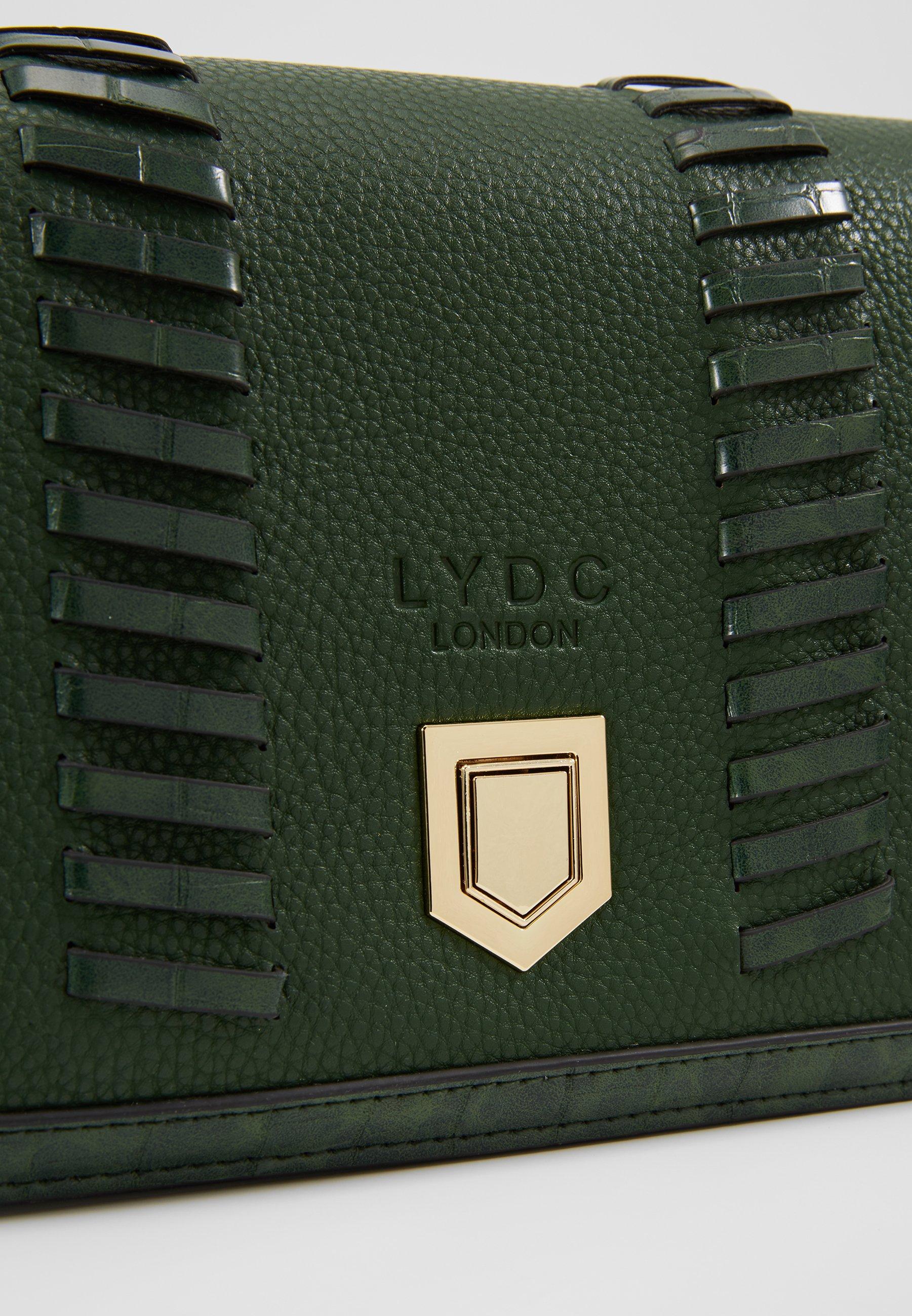 LYDC London Borsa a tracolla - green