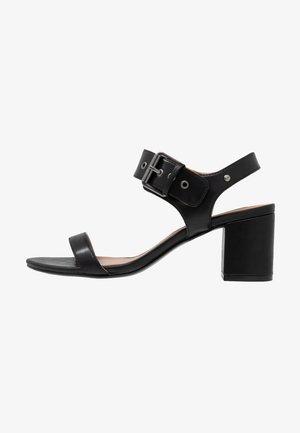 ELYSA VEGAN  - Sandaalit nilkkaremmillä - black